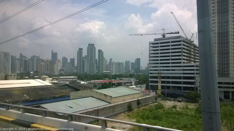 A view of the skyline of the Makati Central Business district from Skyway. Most jobs available for people like me in the Computer Sciences/IT are here.But I loathe to be living in Imperial Metro Manila.