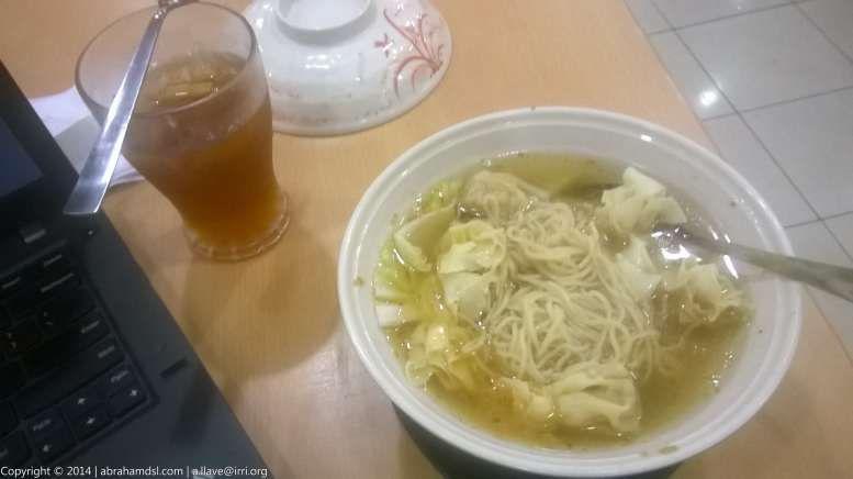 Chowking Wonton Mami Noodle Soup