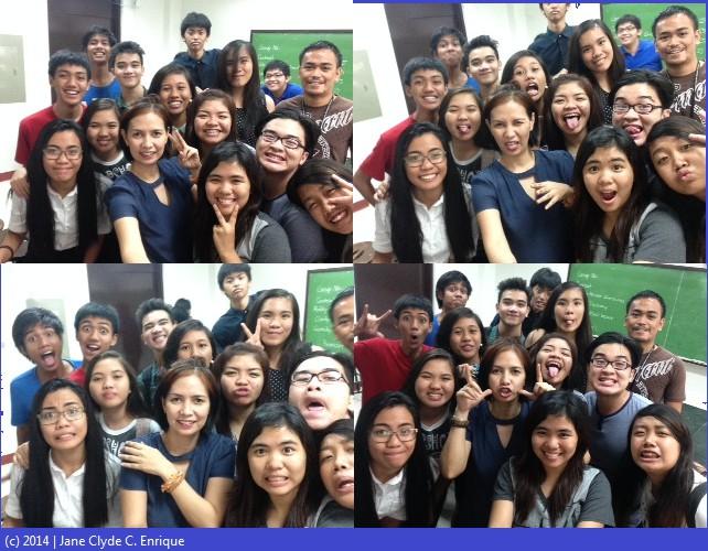 Selfie selfie class!